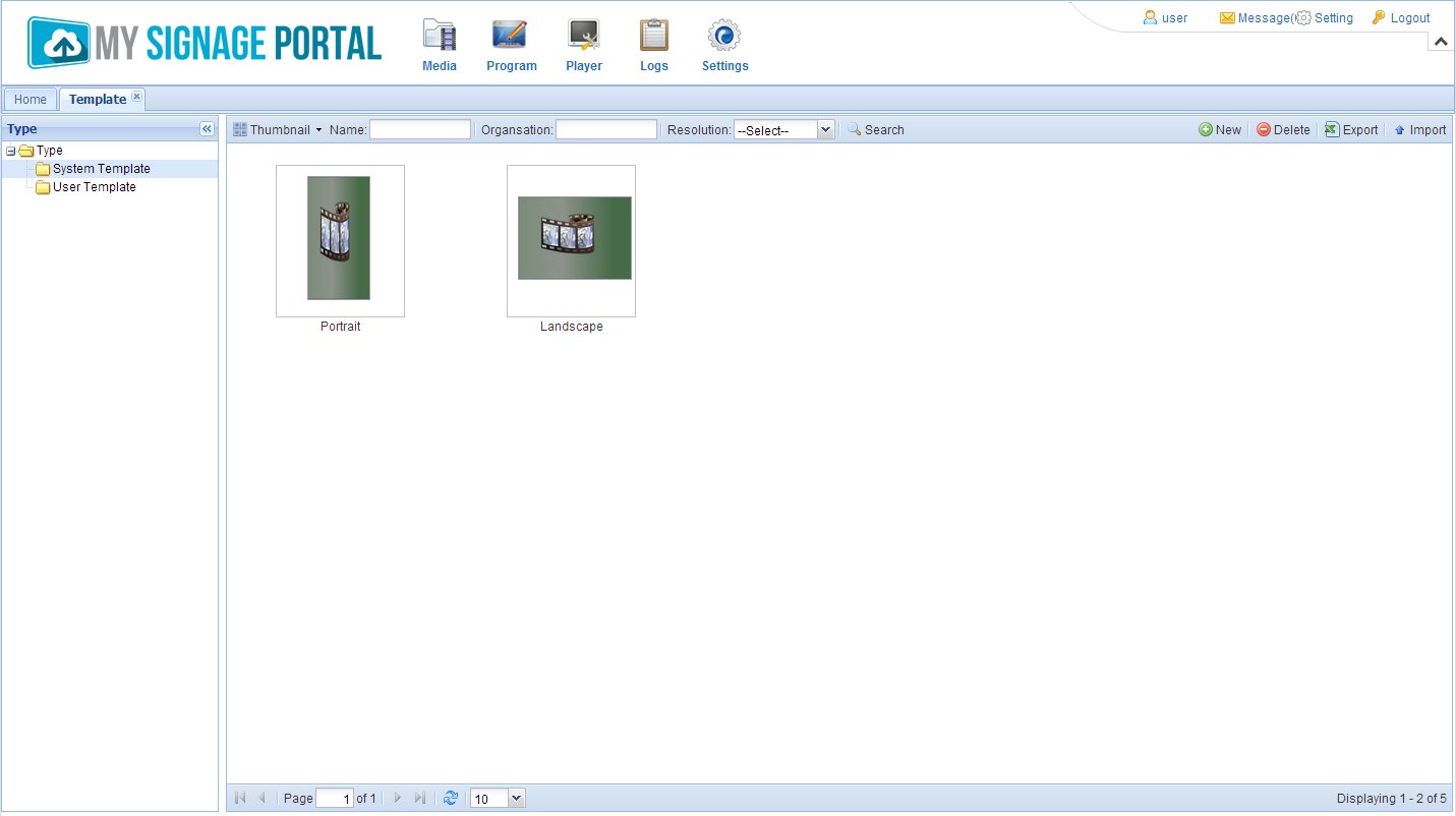If You Only Wish To Have One Video Or Image Displayed At Time Then These Templates Are All Need However Create Diffe Zones For